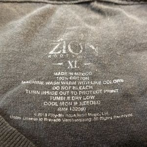 Zion Rootswear Shirts - BOB MARLEY T-SHIRT 👕 Reggae Music Tee XL One Love